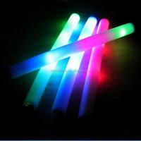 Promotional Multi Color Foam Baton LED Light Sticks bulk christmas gifts