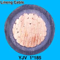 Lineng YJV 1*185 Low Voltage 1 Core Copper Electrical Power Cable
