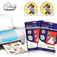 135gsm Waterproof Adhesive Glossy Photo Paper A4, 50sheets