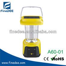 A60-01 Camping Lantern Solar Portable LED Lantern