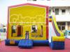 Inflatable classical bouncy with slide , combo for sale