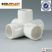 PVC Water Pipe Accessories Pvc Fittings Cross Tee