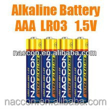 hot selling aaa lr03 am4 alkaline battery dry battery with low price