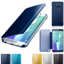 Mirror Clear Phone case Cover For Samsung Galaxy S6 Edge G9250 ,Electroplate Front Mirror Case For Samsung Galaxy S6 edge Plus
