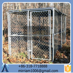 2015 Unique pretty comfortable beautiful easy assemble large strong outdoor new design pet houses/dog kennels/dog cages