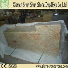Precut Slab Imperial Gold Granite Kitchen Countertop