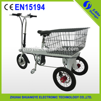 Shuangye three wheel electric cargo bike used