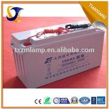 2015 cheap gel battery 12v 40ah 200ah