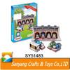 Cartoon toys educational 3D thomas train model paper puzzle