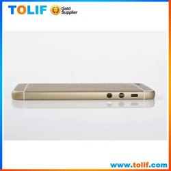 2015 hot selling new product mobile phone accessories for iphone 6 housing back cover gold silver colorful