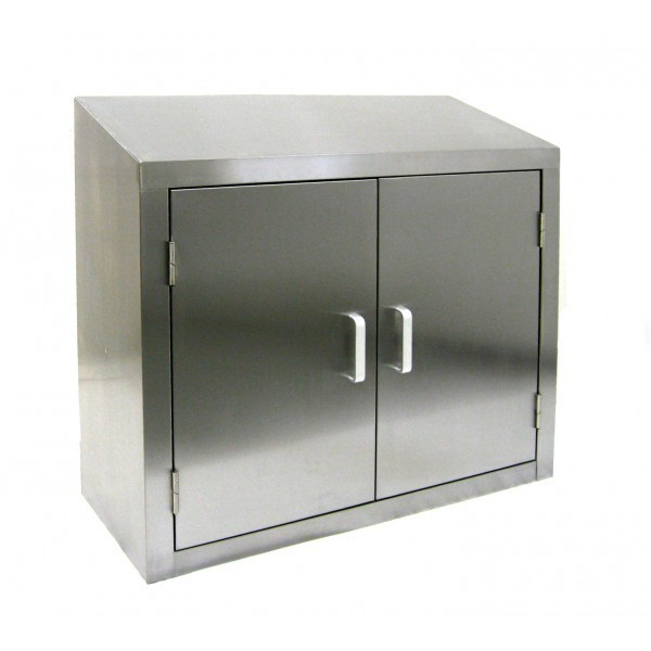 Custom stainless steel kitchen cabinet for commercial for Stainless steel kitchen cabinet price