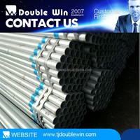 galvanized pipe greenhouse material, galvanized pipe price