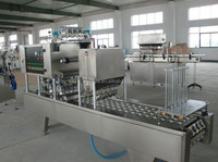 Automatic mineral water pure water yogurt juice soymilk cup filling and sealing machine