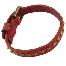 BOSHIHO unique leather bracelet/leather bracelets online/replacement watch straps