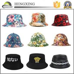 Custom bucket hat/Cheap bucket hats/adult and children wholesale bucket hats