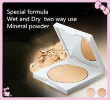 Hot Selling makeup two way silky mineral compact powder foundation powder