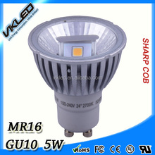with internal driver 24 degree par 16 reflector led spotlights dimmable