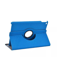 Rotary 360 Degree Rotating denim Leather Skin Case Cover for Apple ipad 6 iPad Air 2