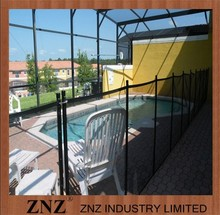 Powder Coated Steel Mesh Plastic Safety Fence Outdoor