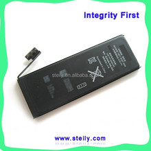 Factory Wholesale Top Quality For iPhone 5 Battery, Battery For iPhone 5, For iPhone5 Battery