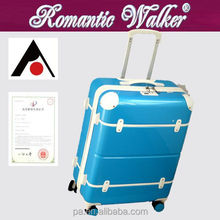 Quality warranty New fashion OEM welcomed PC vintage style trolley trunk