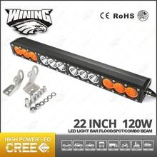 Auto Led Light Bar 120W,22Inch Led Work Lamp For Truck,Amber White Led Light Bar