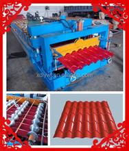 Factory Direct Sale China Style Classical Archaized Color Steel Step/Glazed Tile Iron Glazed Roof Panel Roll Forming Machine