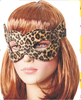 leopard print sexy blinder game toys for female, Top quality eye shade, Supply fashion sex mask