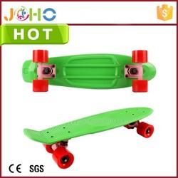 New Banana Plastic Penny Style Retro Cruiser mini 22'' Complete caster wheels for skateboard