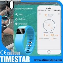 2014 Healthy LED bluetooth bracelet, Pedometer, Sleep monitor, bluetooth smart bracelet, smart watch bracelet, B9