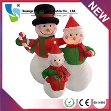 Lovely Christmas Inflatable Snowman, Christmas Gift For Decoration Inflatable Snowman Products