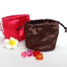 Low price hot sell chinese style silk jewelry satin pouch