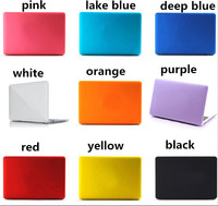 Frosted Matte Hard Case Cover for Macbook Air 11.6'' inch Laptop Sleeve Bag Shell 13 Colors