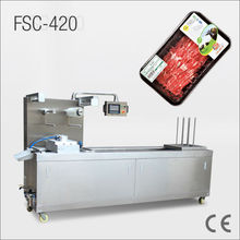 Touch screen control panel FSC420 Automatic tray vacuum sealer