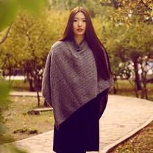 señoras 2014 poncho de lana
