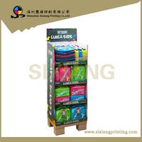 cardboard pedestal display stand for lunch bag