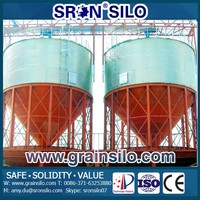 Corrosion and Rust protection Small Grain Silos 3 Ton Capacity