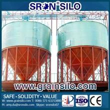 Corrosion and Rust protection Small Grain Silos 3 Ton Capacity