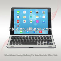 Aluminum bluetooth keyboard for ipad 2/3/4 /ipad mini/ samsung galaxy tablet pc