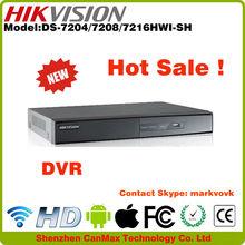 4CH DS-7204HWI-SH Hikvision DVR & digital video recorder