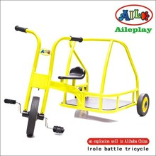 kids battle tricycle metal frame tricycle preschool tricycle