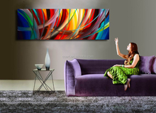 Pictures of Abstract Paintings Hand Painted in Oil
