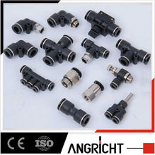 pneumatic connector plastic pipe fitting