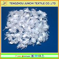Junchi raw white highway concrete fiber cement pp fiber