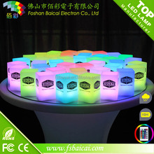 2015 Color Changing LED Cube Chairs / LED Cube / Light Cube Seat