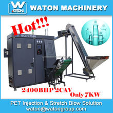 High efficiency Low production cost plastic bottle making machine used