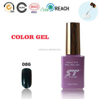2015 Nail gel with led lamp for wholesale nail art products