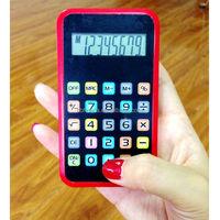 8 digits iPhone shape calculator, mini pocket gift calculator/ HLD-118