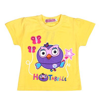 In Stock Summer Kids Girls clothing Cartoon Factory Prices baby cotton t shirt