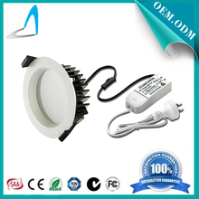 140*45mm SAA high luminous 25w led downlights for commercial with power driver